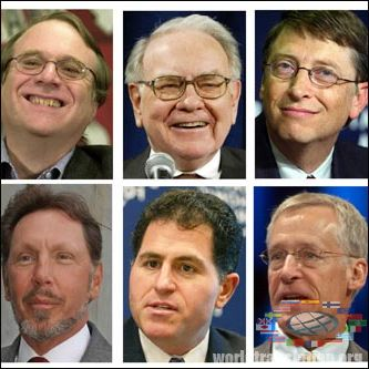 World's Richest People How Did They Get There