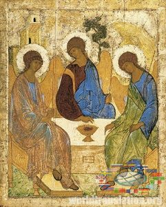 Trinity by Andrei Rublev