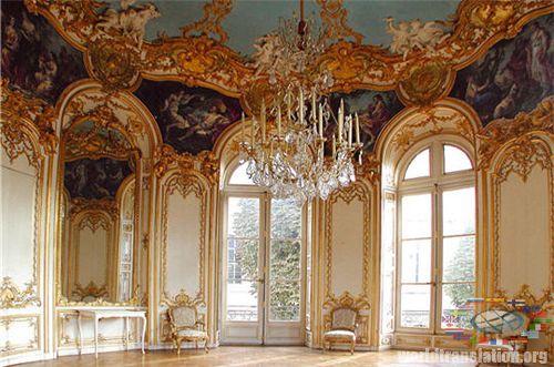 Мир переводов Rococo Interiors Video Rococo Style Studio In Adorable Rococo Decorative Wall Tile