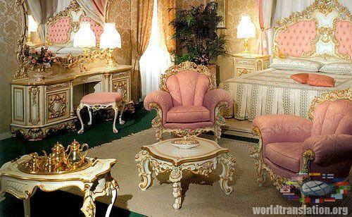 Rococo Interiors Video Rococo Style Studio In Paris