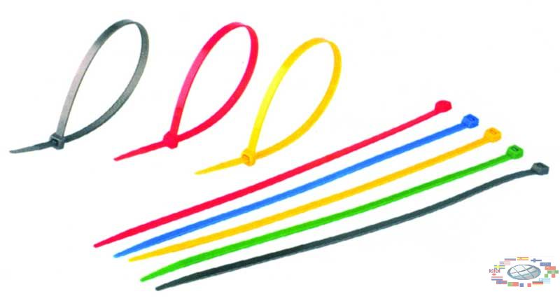hide wires from the PC cable ties