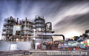 enterprise, plant, oil refinery