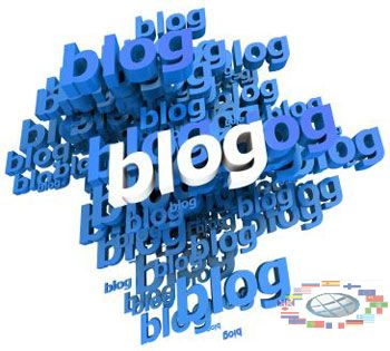 Links from blogging networks