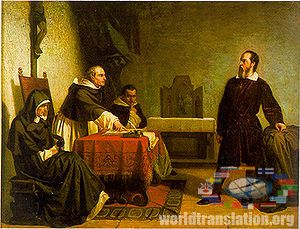 Galileo Galilee conflict with the catholic church