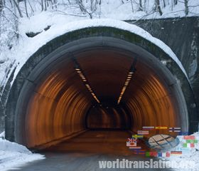 Tunnel across the Bering Strait