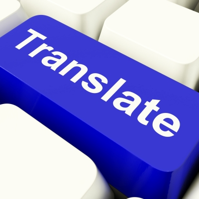 Translator from English, translation