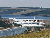 Dniester hydro power plant.