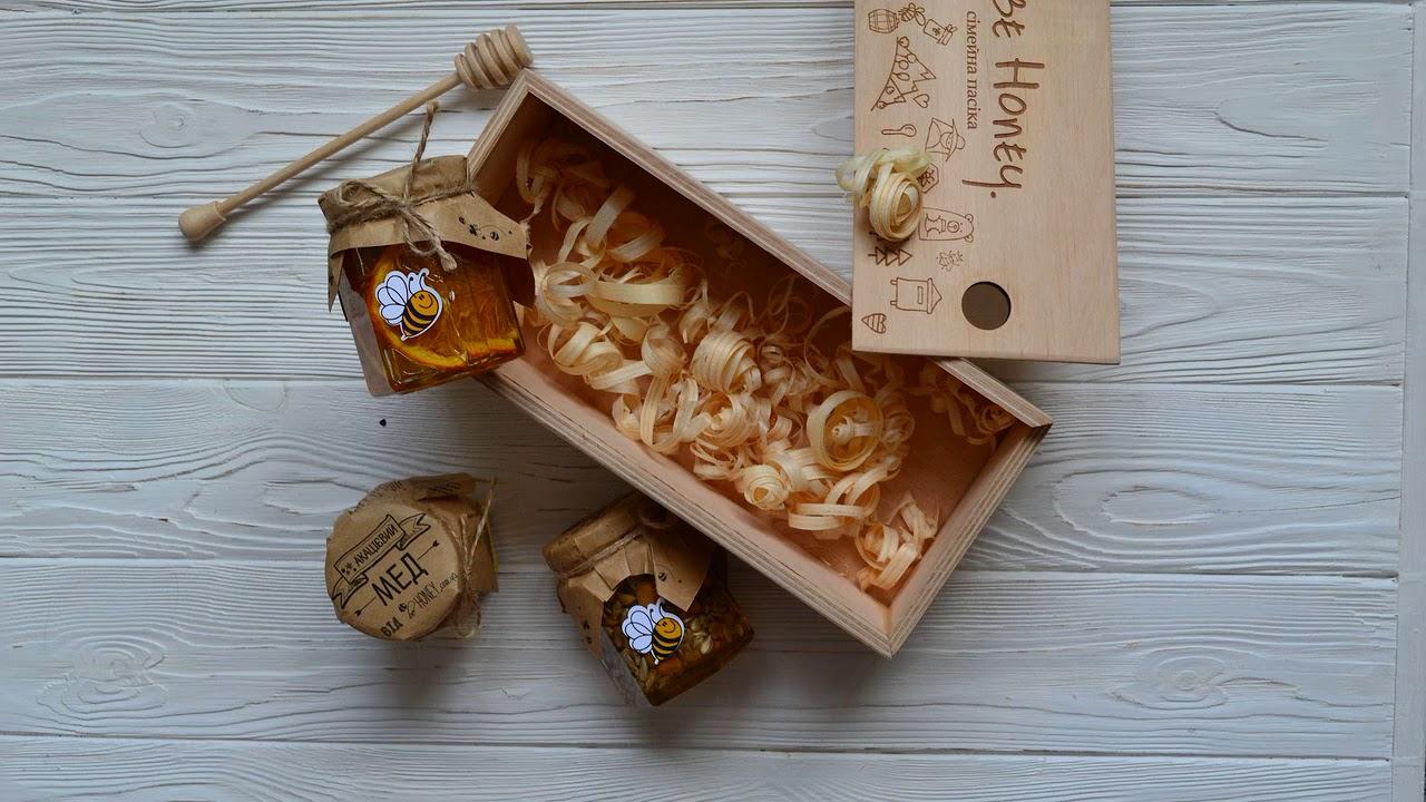 корпоративный подарок мед