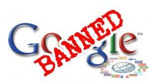 Google sanctions